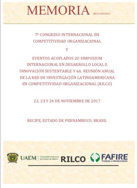 Memoria 7 Congreso Internacional en Competitividad Organizacional