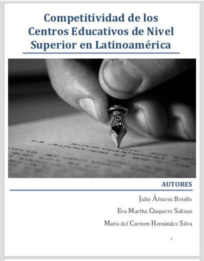 LIBRO: Competitividad de los Centros Educativos de Nivel Superior en Latinoamérica