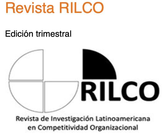 :.NUEVO.:Revista de Investigación Latinoamericana en Competitividad Organizacional / ISSN2659-5494